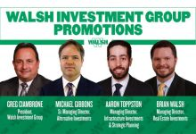 Walsh announces management reshuffle